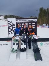 Анисимов Андрей - вице-чемпион Чемпионата России по сноуборд-кроссу