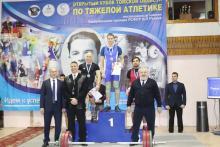 Открытый Кубок Томской области по тяжелой атлетике