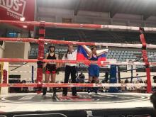 Вероника Гудина выиграла Кубок мира по кикбоксингу