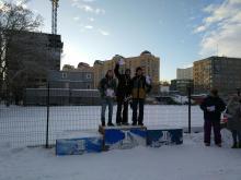 Первенство Новосибирской области по сноубордингу
